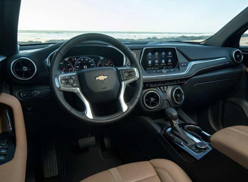 Chevrolet Blazer steering wheel