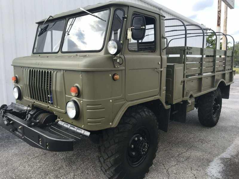 Onboard GAZ-66