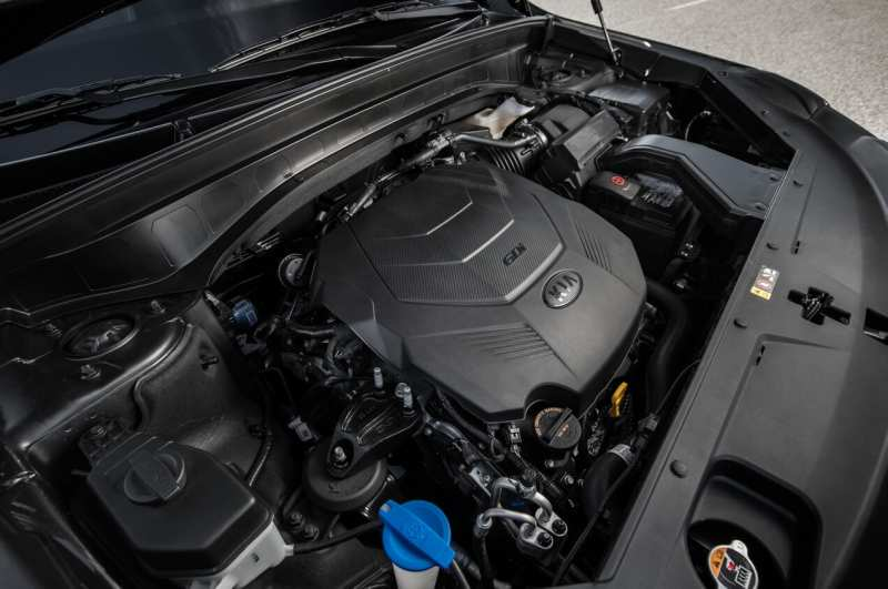 Kia Telluride engine