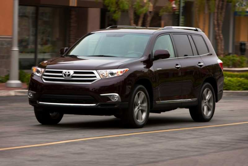 The 8-seat Toyota Highlander is officially introduced