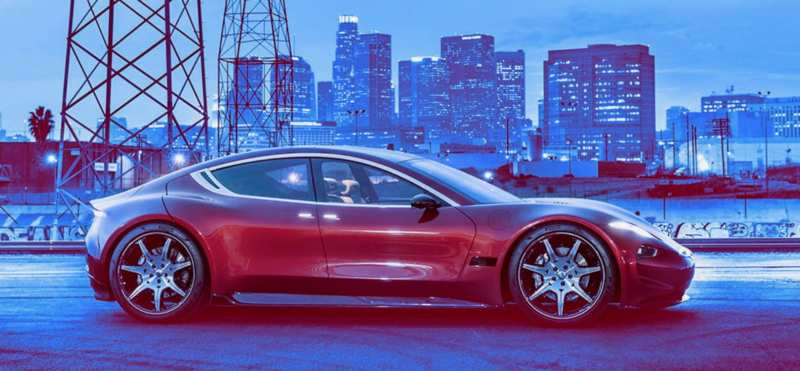 The Fisker electric car will wipe Ilona Mask's nose