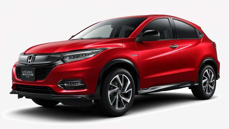 Honda Vezel photo auto