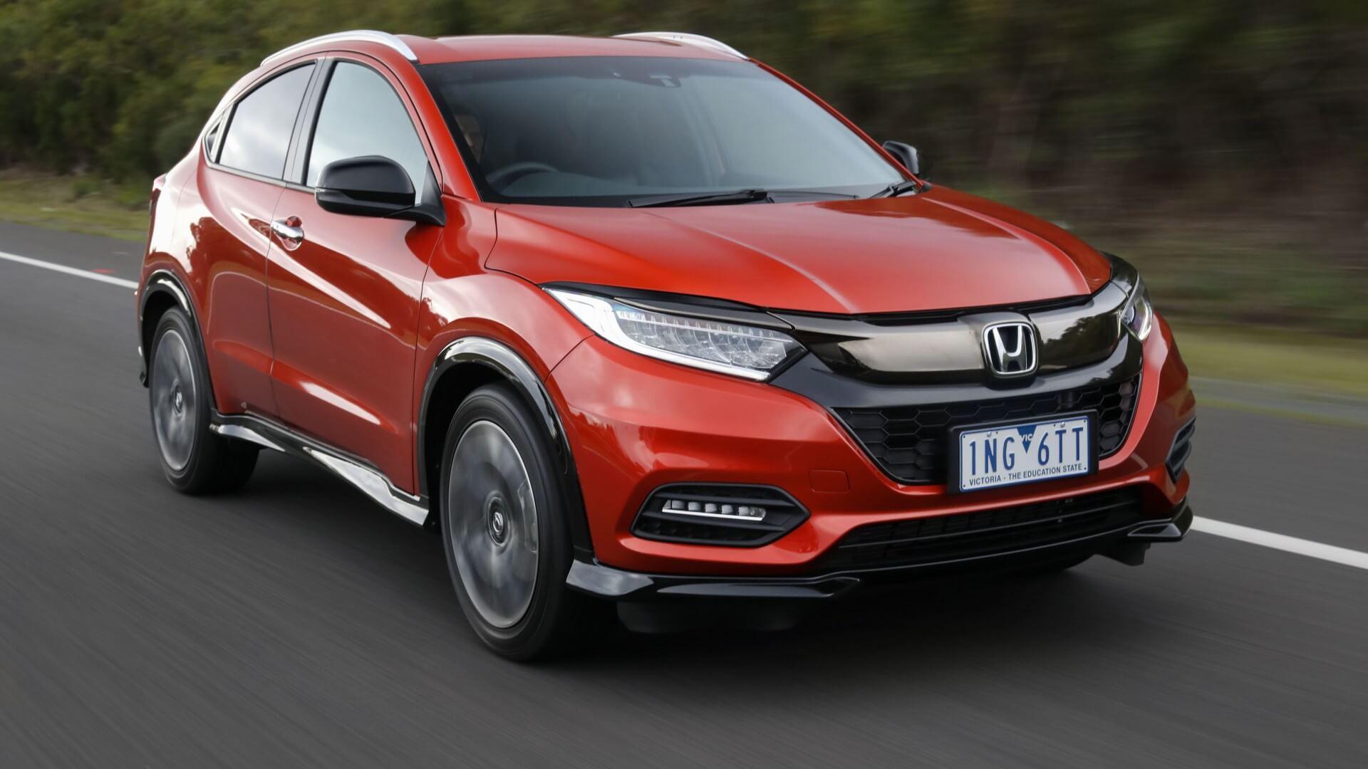 Updated Honda HR-V is presented in Japan as Vezel