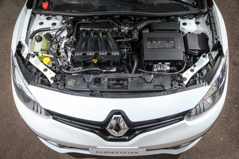 Renault Fluence GT engine