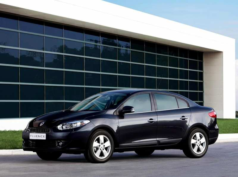 Renault Fluence is the first generation