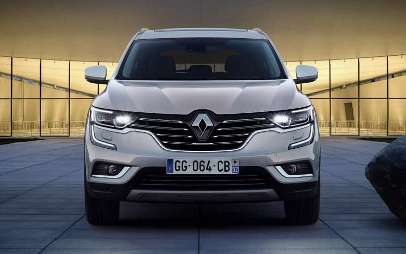 Front view of Renault Koleos II