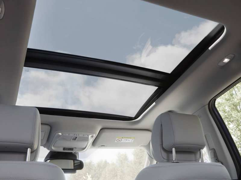 Panoramic roof Renault Koleos