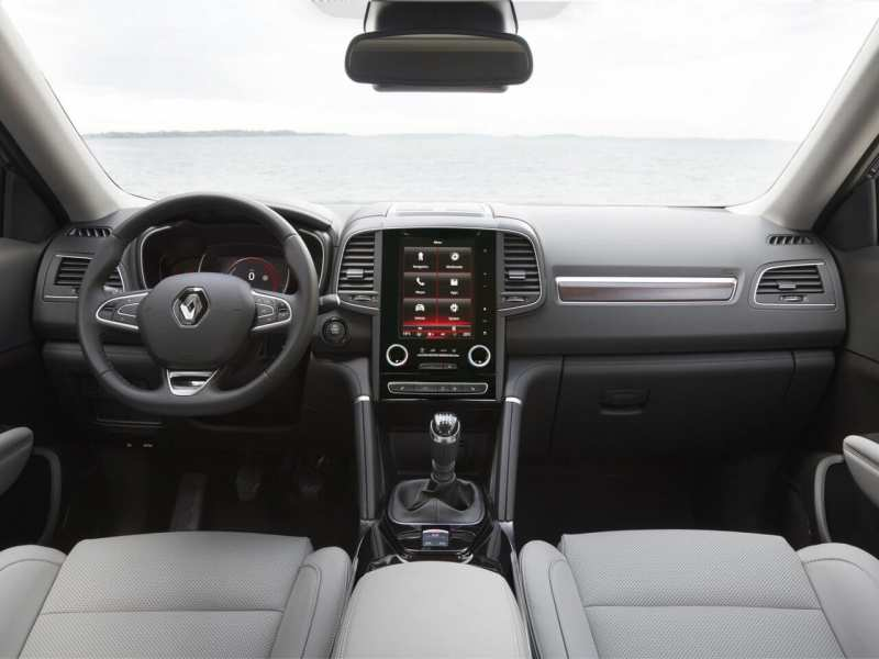 Interior of Renault Koleos II