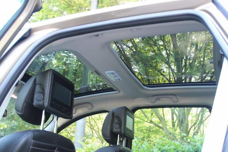 The interior of Renault Scenic III