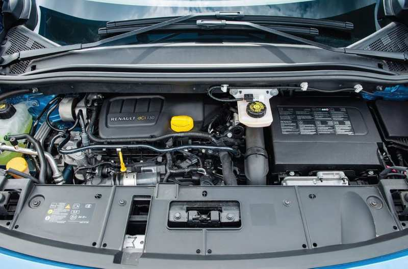 Renault Scenic III generation engine