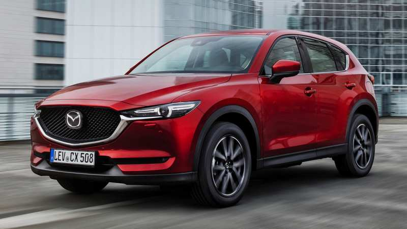 The new Mazda CX-5 is already at the official dealer