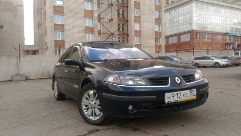 Front view of Renault Laguna 2