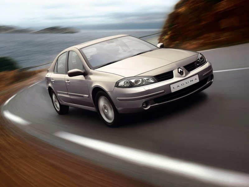 Renault Laguna front view