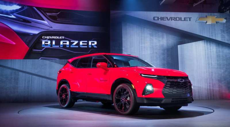 Chevrolet has decided to revive the legendary Blazer crossover version