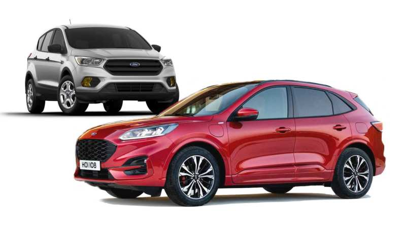 The secret becomes clear, the first photos of Ford Kuga 2020