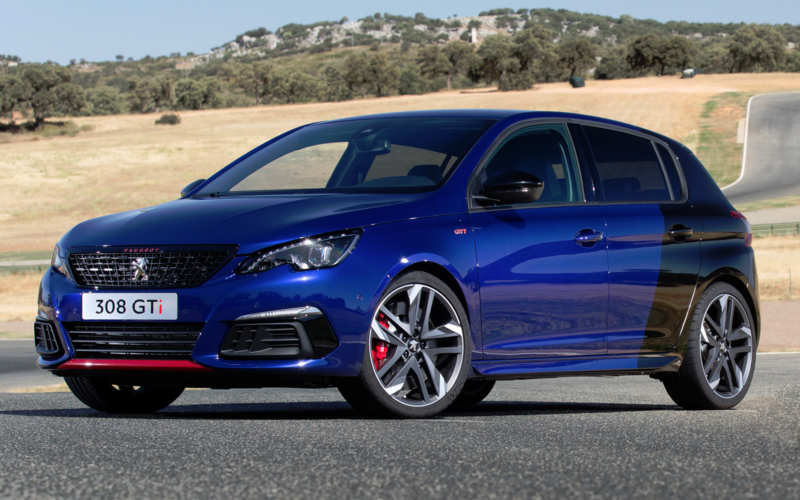 Peugeot 308 – now available with a 270 hp engine