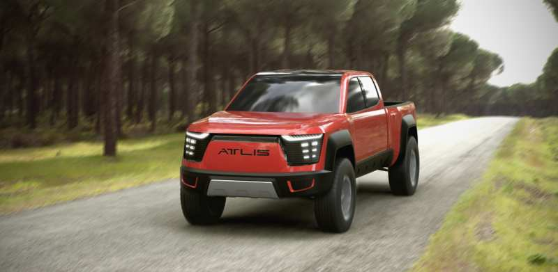 Atlis XT: Electric pickup with 15 minutes of charging