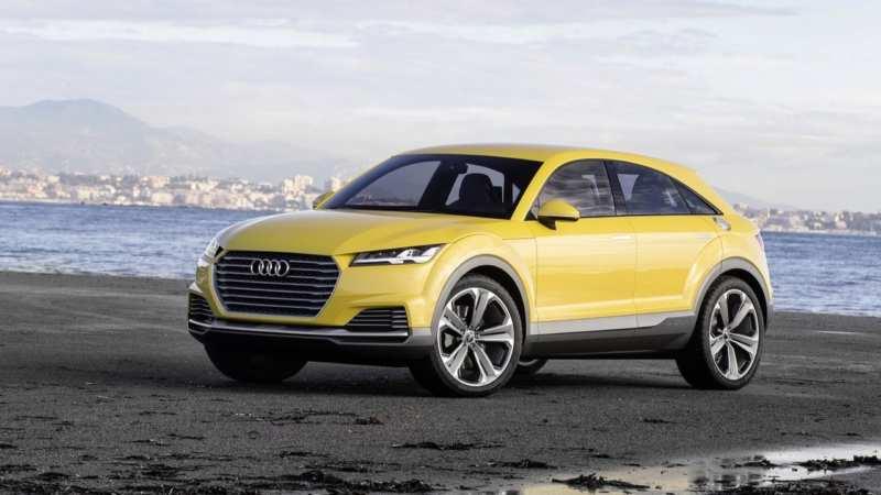 Audi Q4 premium crossover: impressive photos