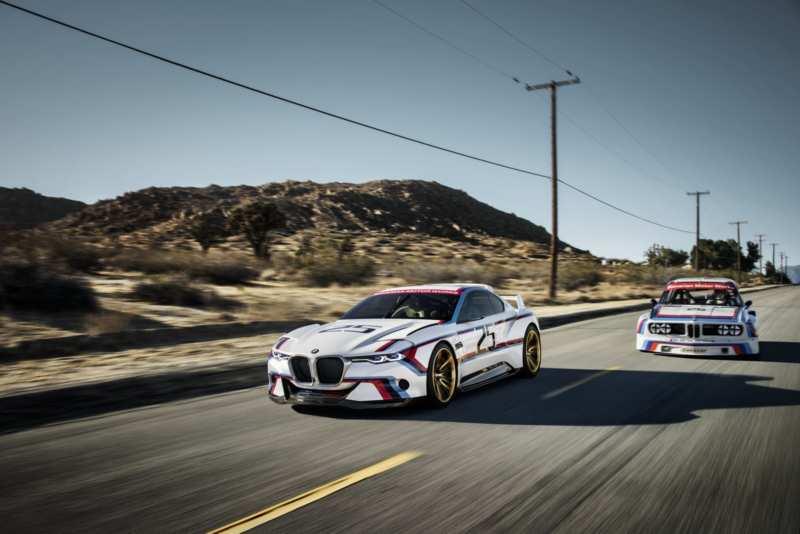 BMW Announces BMW 3.0 CSL Hommage Racing Concept Car