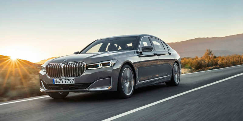 Updated BMW 7