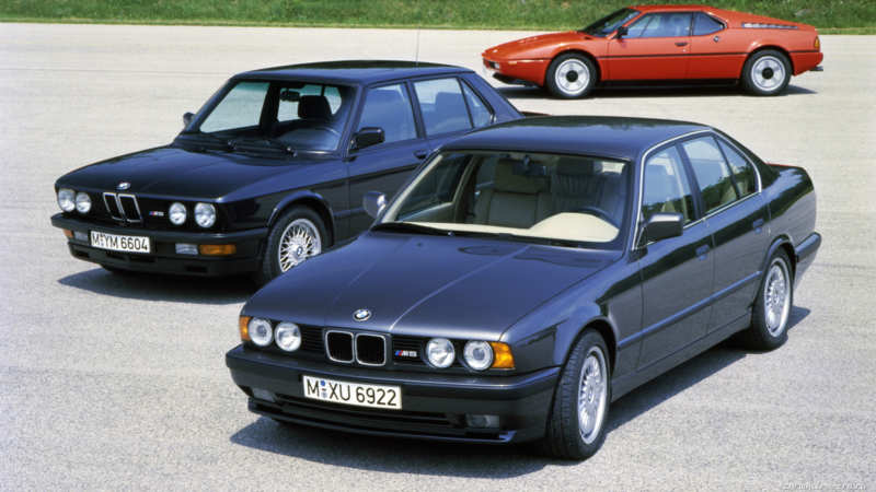 Anyone interested in paying $55,000 for a well-groomed version of the 1991 BMW M5?