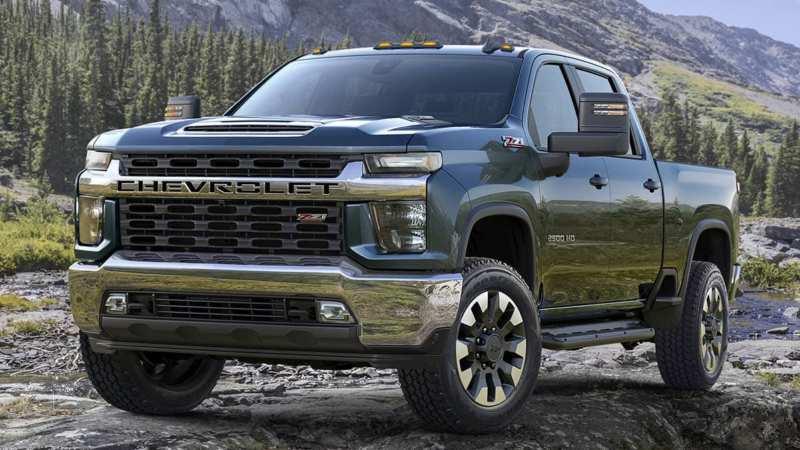 Chevrolet Silverado HD will be released in 5 designs in the USA