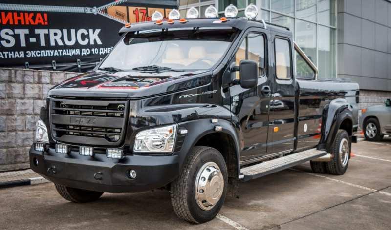 A new GAZ pickup truck – its characteristics at the auto show