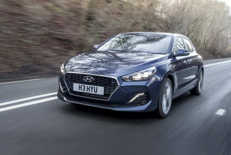 Introduced sports modification Hyundai i30 fastback