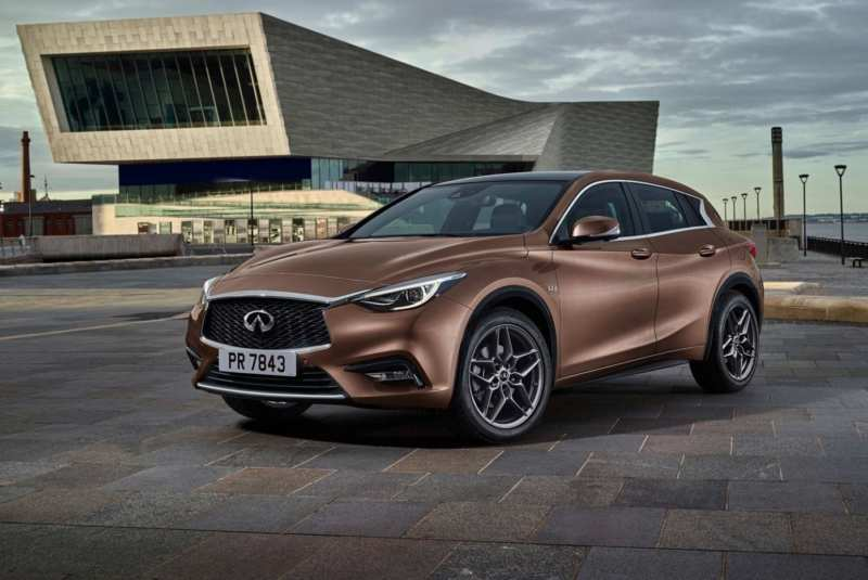 Infiniti introduced the Q30