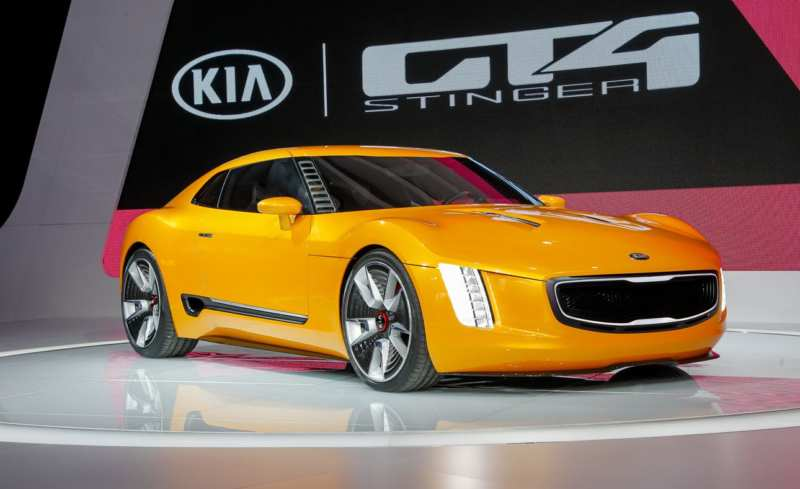 Kia GT4 Stinger sports car expected by 2020