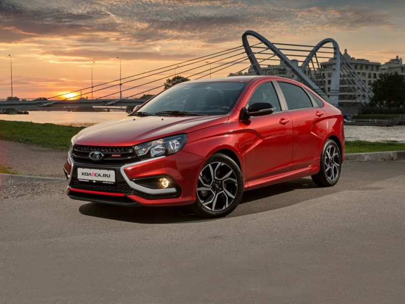 Are there many sports in the new Lada Vesta Sport?