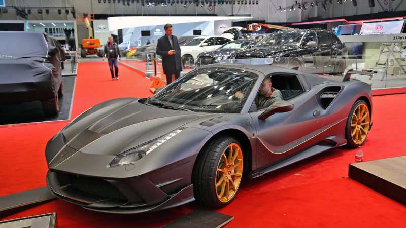 Mansory is an unrealistically expensive tuning