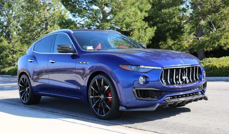 Crossover from Maserati – the first photos appeared in the network