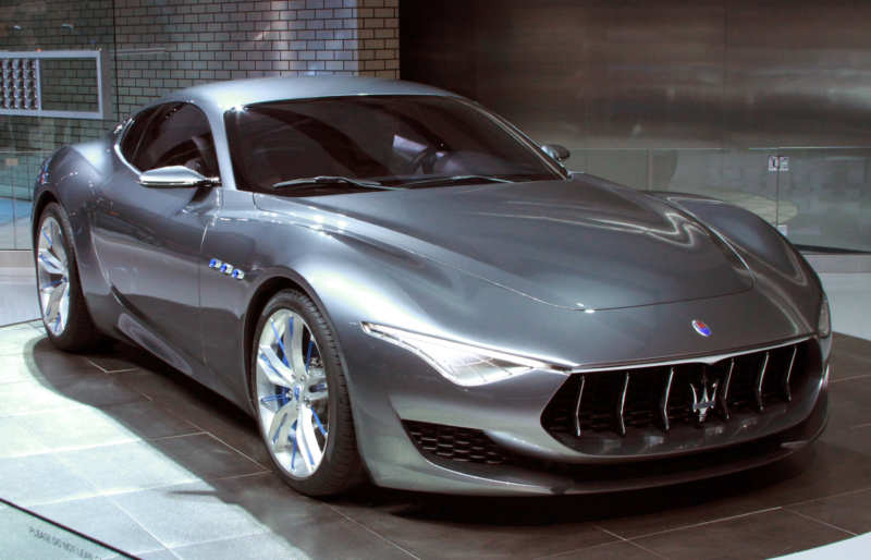 Decided to keep the Maserati Alfieri in series production