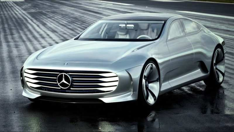The concept of the automobile company Mercedes IAA looks like a real plane carpet