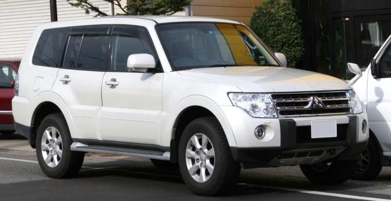 New Japanese Pajero SUV