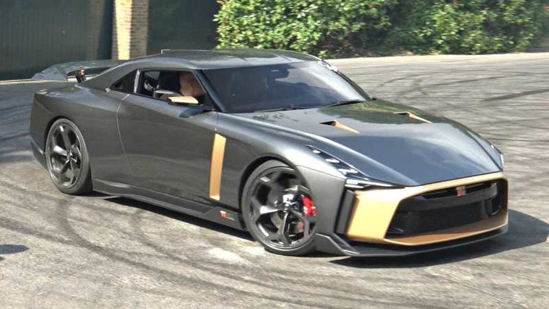 The cost of Nissan GT-R50 soared up to 1 million euros