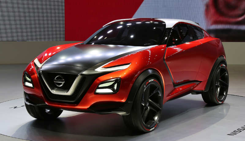 Nissan Gripz Concept crossover of sports type at the motor show in Germany