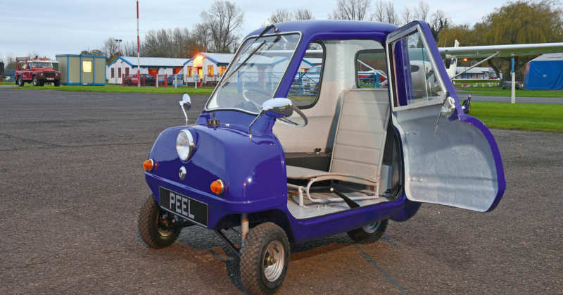 The smallest car in the world is on auction