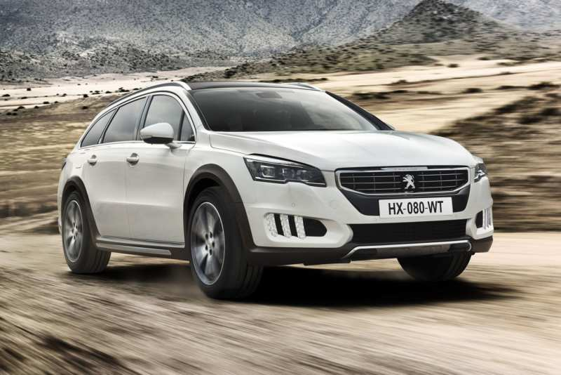 Completion of the Peugeot 508 RXH electro-diesel hybrid