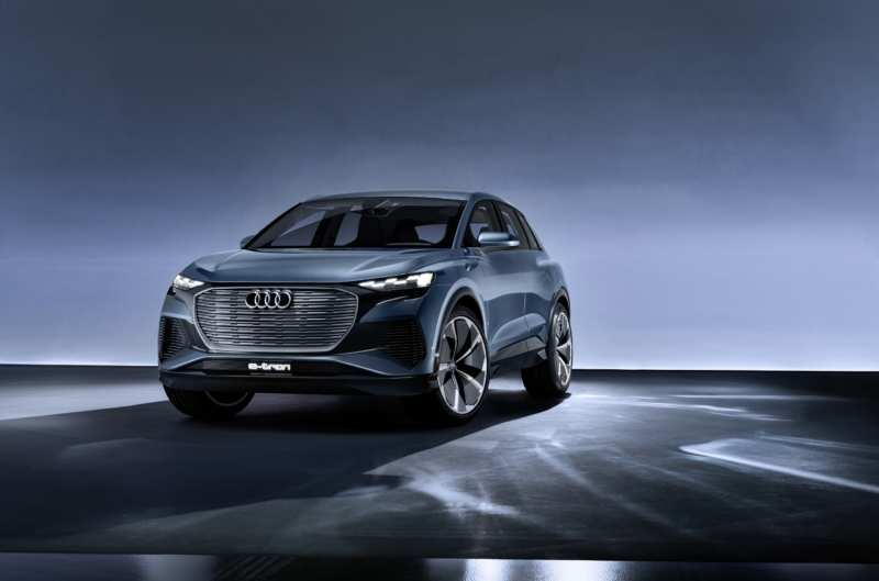 German company Audi decided to announce the cheapest version of the electric crossover