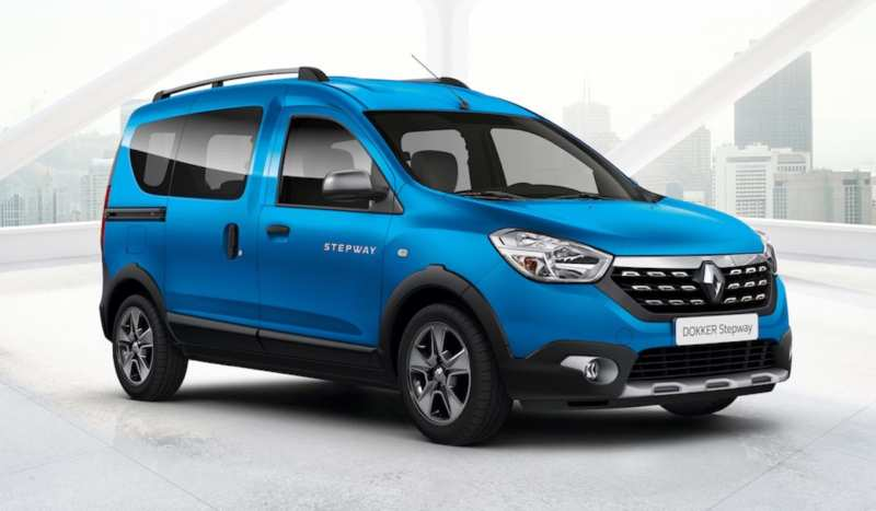 The off-road version of the Renault Dokker will be available especially for the Russian Federation