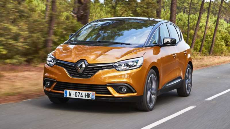 Renault Scenic 2016 has received 20-inch wheels