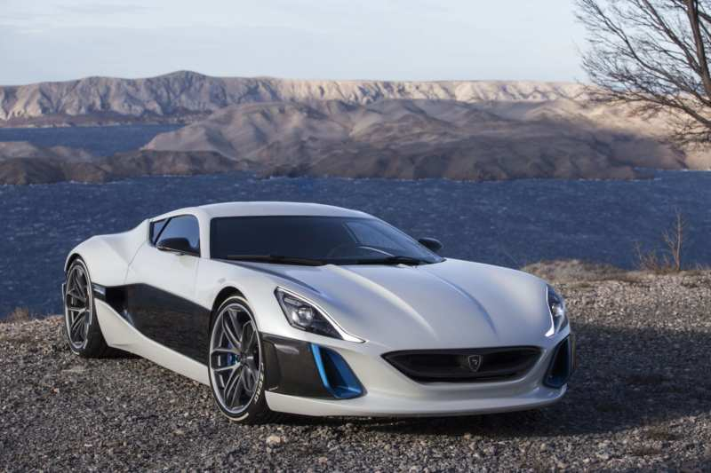 Rimac Concept One is named the fastest electric car in the world