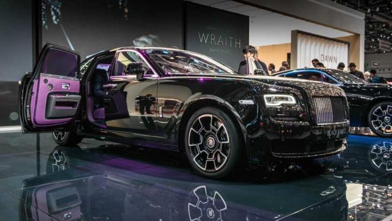 Rolls Royce Black Badge >> Rolls Royce Black Badge Was Shown At The Car Show