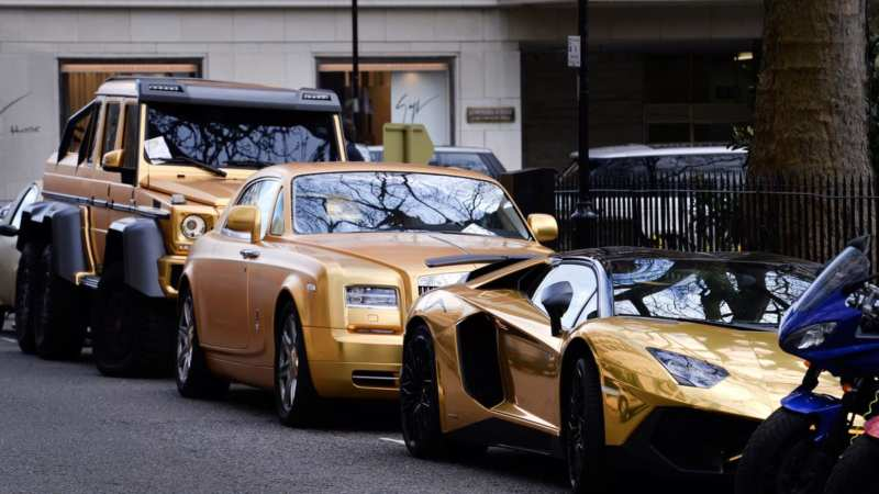 Supercars in London are already banned