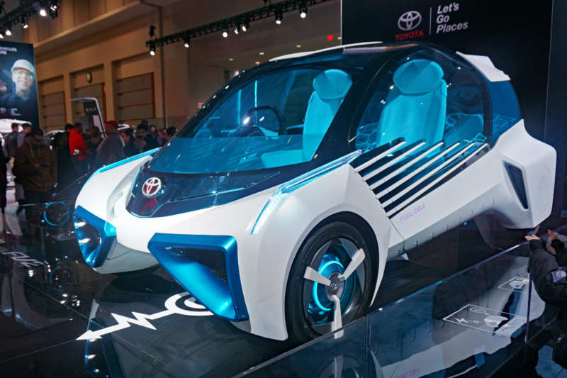 Toyota knows how to make a generator out of a car