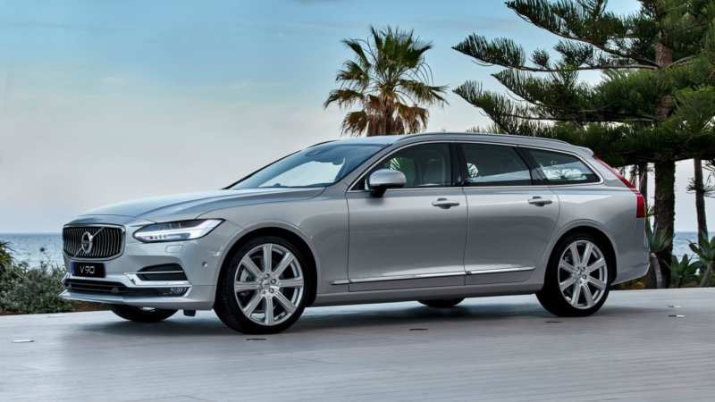 Volvo V90: sickle and hammer