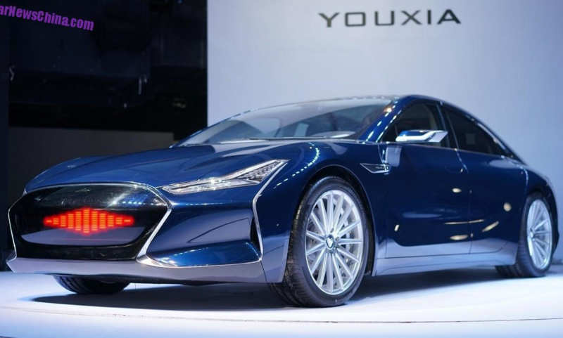 Youxia X is a Chinese-made electric sedan