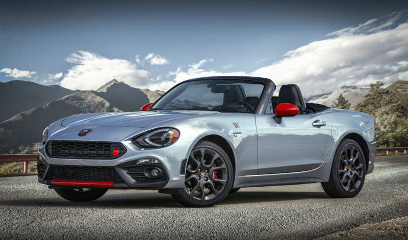 Fiat boasted a roadster on the Mazda MX-5 base